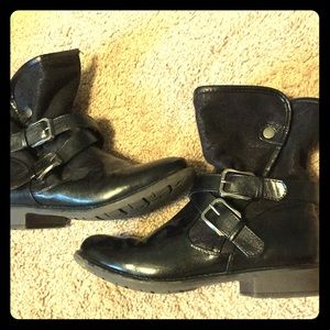 Buckled boots! Well loved but in great condition!